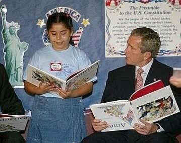 Bush ja kirjat