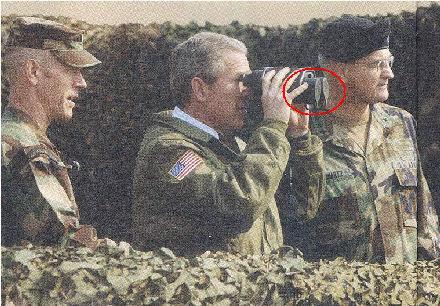 Bush ja kiikarit