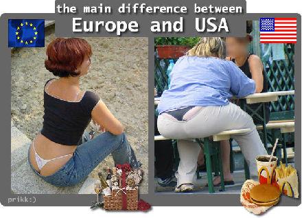 Euroopan ja USA:n ero