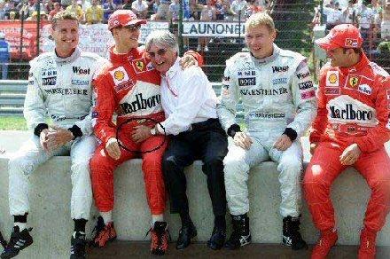Ecclestone ja Schumacher