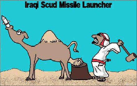 Irakilaisten scud-ohjus