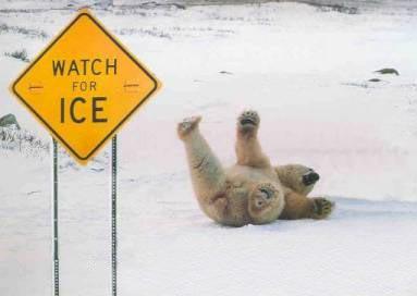 Varo jäätä
