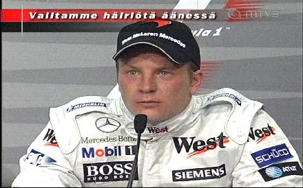 Kimi Räikkönen - Häiriö äänessä