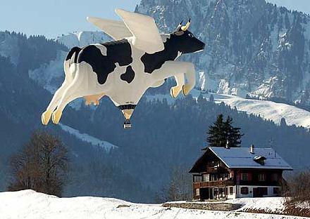 Lentävä lehmä