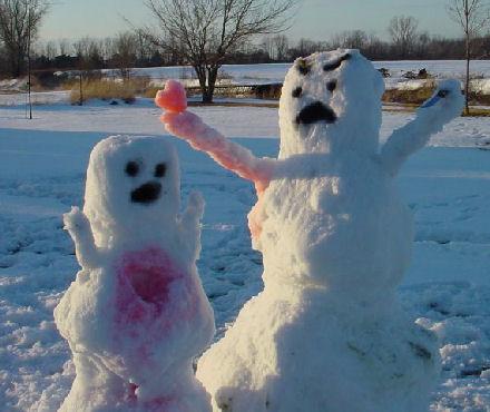 Raaka lumiukko