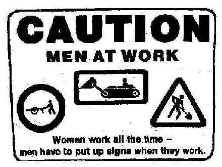 Miehet työssä