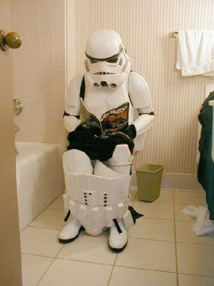 Robotti vessassa