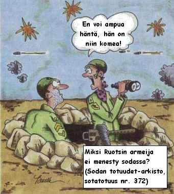 Miksi ruotsin armeija ei pärjää?