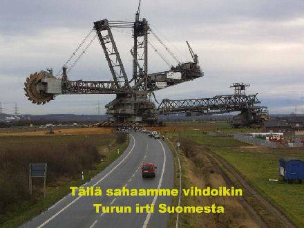 Turku irti Suomesta